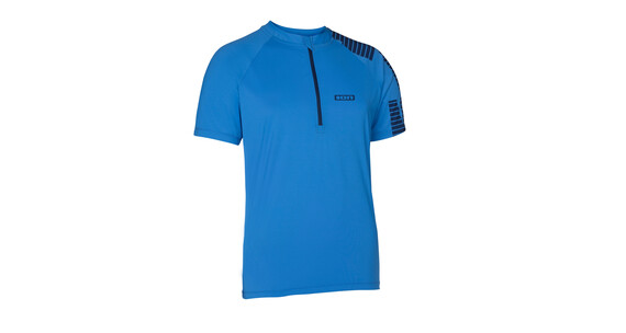 ION Quest SS Tee Half Zip Men palace blue